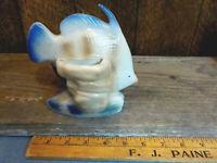 Vintage Angel Fish Pottery Pocket Vase
