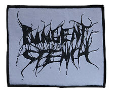 PUNGENT STENCH - Black Logo On White - Aufnäher / Patch - Neu - #5704