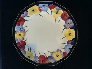 ROYAL DOULTON PANSY PATTERN DINNER PLATE