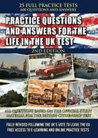 Practice Questions and Answers for the Life in the UK Test 2019 9781999665012