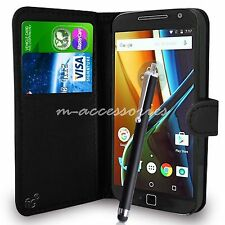 Wallet Flip PU Leather Case Cover Pouch For Motorola Moto X Force Mobile Phone