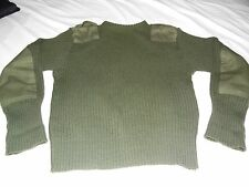 USMC Green Service Sweater Wooly Pully size 40