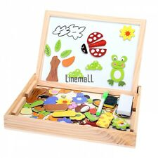 Children Drawing Board Puzzle Animal magnetic Double Sided Educational Toys LM