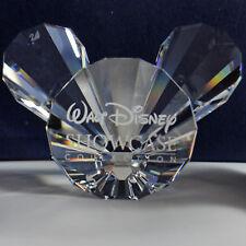 swarovski disney topolino mickey mouse originale targa plaque authentique 835357