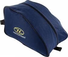 NAVY BLUE WATERPROOF BOOT BAG Large Military hiking shoe rip stop carry pack