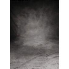 5 x 7ft Foto Grau Schwarz Fotografie Hintergrund Vintage backdrop Studio Kulisse