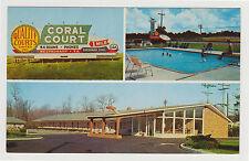 Chrome Coral Court Motel, Rocky Mount, NC 1960s North Carolina