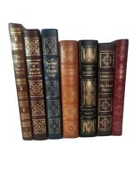 Lot of 7  Easton Press Leather bond classics collectors edition LIKE NEW