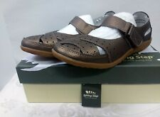 Spring Step Streetwise Leather Sandals Mary Jane Women's Shoes Sz 38M 7.5 NIB