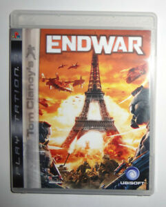 PS3 Game - Tom Clancy's End of War      [Rated ?]