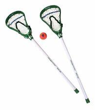 A&R Sports MLL Major League Lacrosse Mini Stick Set 2 Green Sticks & Sponge Ball
