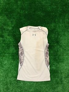 Men's Under Armour UA Heat Gear Compression Running Shirt Size Large