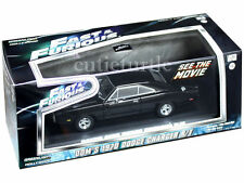 Greenlight Fast & Furious Don's 1970 Dodge Charger R/T 1:43 Black w Case 86201