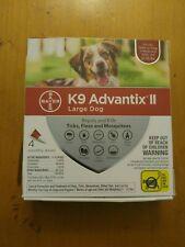 K9 Advantix Ii Flea Medicine Large Dog 4 Month Supply Pack K-9 21- 55 lbs Ticks