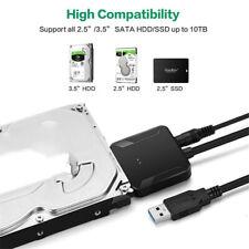 "USB 3.0 To SATA External Adapter Converter Cable Hard Drive 2.5"" 3.5'' HDD"