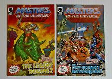 MOTUC Mini Comics 2011 Lot of 2 The Legends Begins Second Ultimate BattleGround