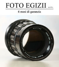 PENTAX 200mm f/4 TAKUMAR 6X7 Super Multi Coated ORIGINALE OTTIMO USATO GARANTITO