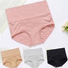 Women High Waist Tummy Control Body Shaper Briefs Slimming Pants Underwear FG