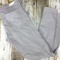 Adriano Goldschmied AG Womens The Legging Ankle Super Skinny Light Gray Size 32R