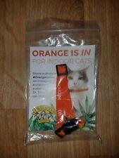 New Dr. Elsey's Indoor Cat Orange Quick Clasp Pet Collar