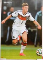 Max Meyer + Fußball Nationalspieler DFB + Fan Big Card Edition B816
