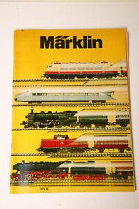 Märklin Main Catalogue 1975 D (3557)