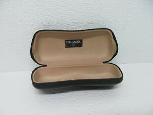 Chanel Made in Italy Black Hard Sunglasses Case Only