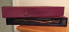RARE Authentic~OAK 7 OLLIVANDER'S WAND~The Wizarding World of Harry Potter Snake