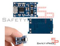 Modulo TP4056 1A Micro USB 5V CARGADOR BATERIAS LITIO Li-ion 18650 PROTECCION