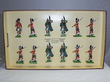 BRITAINS 5185 BRITISH SEAFORTH HIGHLANDERS LIMITED EDITION METAL TOY SOLDIER SET