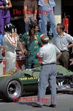 Graham Hill Lotus 49 French Grand Prix 1967 Photograph