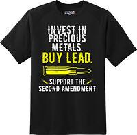 Funny  2nd Amendment Patriotic American T Shirt  New Graphic Tee