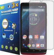 3x Ultra Clear LCD Screen Protector Guard Cover Film Motorola Droid Turbo XT1254