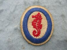 WWII US Army Patch D Day Seahorse Engineer Special Brigades Normandy WW2