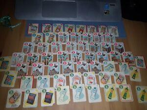 Lotto Collezione figurine Mira Lanza