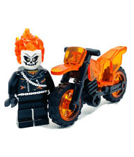 Marvel Ghost Rider Custom Figure #282  ((US SELLER - FITS LEGOS))