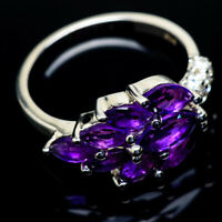 Amethyst 925 Sterling Silver Ring Size 5.5 Ana Co Jewelry R18675F