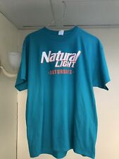 **NEW** NATURAL LIGHT NATURDAYS MENS XXL T-SHIRT