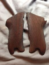 An Attractive Pair Of Grips For A Luger P.08.