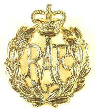 RAF ROYAL AIR FORCE (QC) REGIMENTAL CAP BADGE