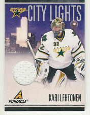 2010-11 PANINI PINNACLE KARI LEHTONEN JERSEY /499 CITY LIGHTS MATERIALS STARS