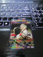 FREMANTLE DOCKERS - AARON SANDILANDS SIGNED AFL 2006 TEAMCOACH CARD
