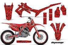 Honda CRF 450R Graphic MX Kit AMR Racing # Plate Decal Sticker Part 13-14 DIGI R