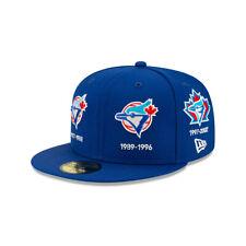 Мужские Торонто Блю Джейс новой эры королевский по всей истории логотипы 59 Fifty установлены шапка