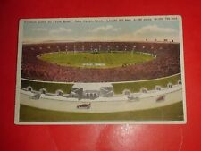 ZN341 Vintage Postcard Football Game Yale Bowl New Haven Connecticut