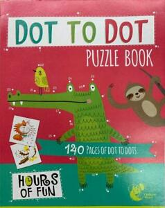 Dot to Dot Puzzle Book 140 Page Children Kids Activity Book