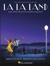 LA LA LAND MOVIE SOUNDTRACK FOR EASY GUITAR TAB SHEET MUSIC SONG BOOK