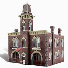 "HO Woodland Scenics ""Built & Ready"" 5034 * Firehouse * NIB"