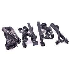 For CORSAIR SF750 SF600 SF450 PCIe 6+2Pin 8-Pin SATA PATA 24Pin CPU 4+4pin Cable