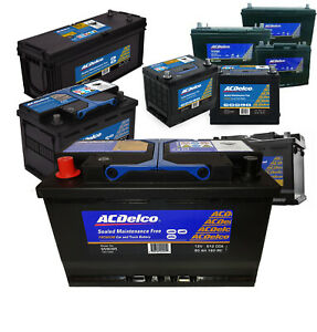 Battery  ACDelco AU22R520SMF